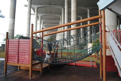 """Igrala pod """"streho"""" pristajalne steze na Madeiri"""