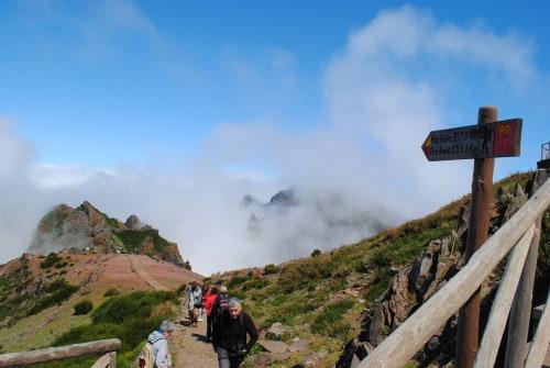 Izhodišče za obisk najvišjega vrha na Madeiri