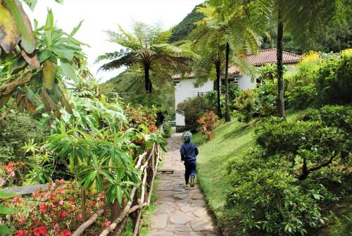 Ribogojnica je obdana s čudovitim tipičnim rastjem otoka Madeire.