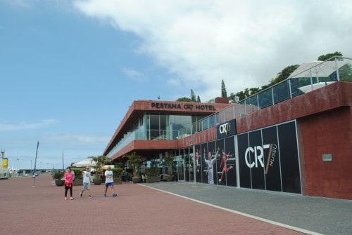 Hotel, muzej in trgovina CR7 (Funchal, Madeira)