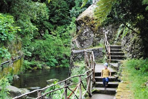Sprehod po vasi Ribeiro Frio, Madeira