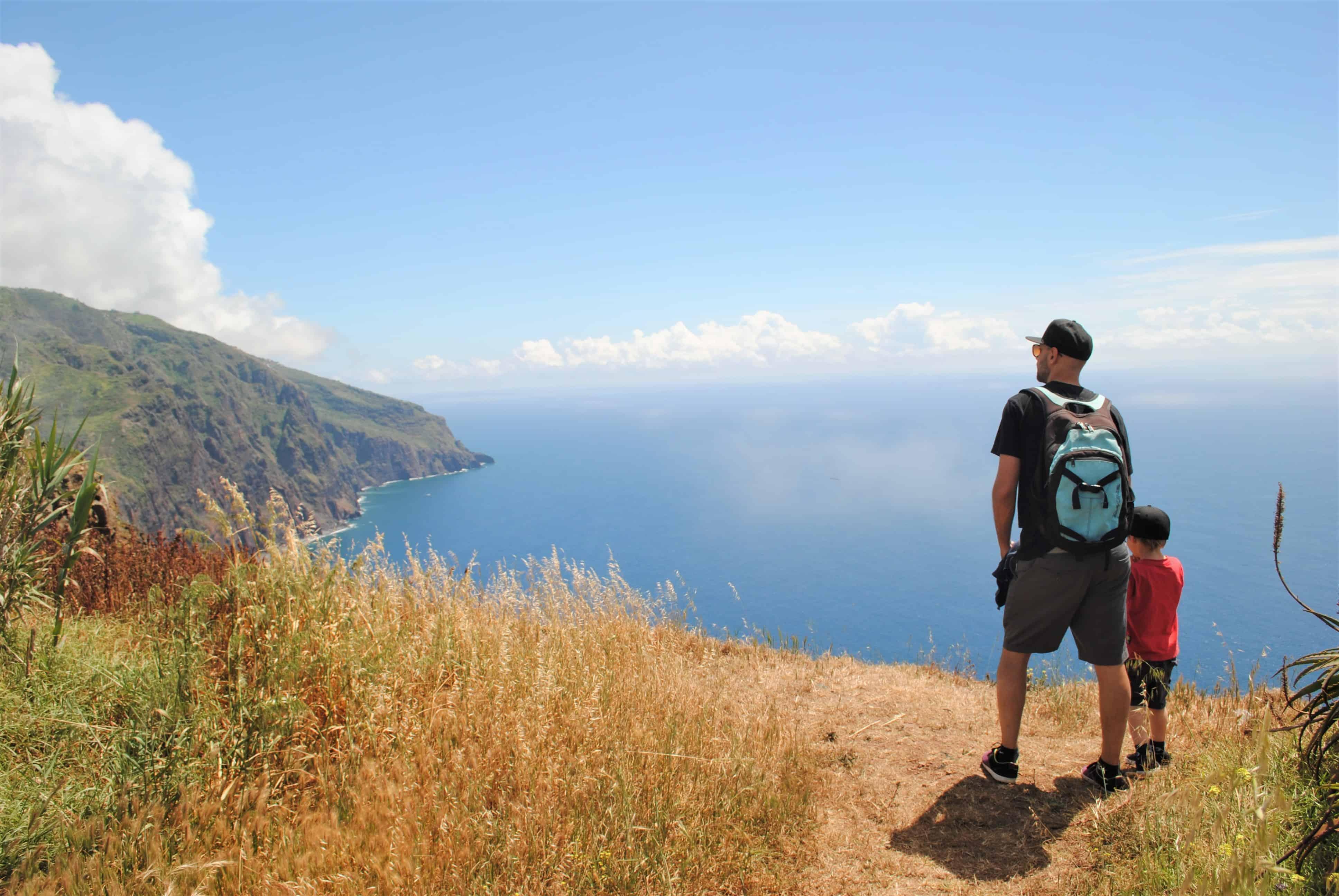 Razgled na mogočne klife - Ponta do Pargo, Madeira