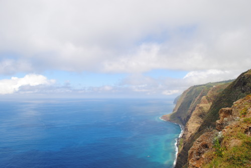 Razgled iz najbolj zahodne točke na Madeiri