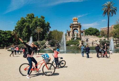 Barcelona z otroki