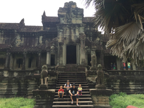 Kambodža - primerna destinacija tudi za novo leto, novoletni oddih z otroki
