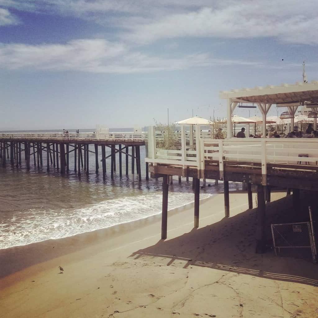 Malibu beach, Los Angeles (Potovanje z otroki po Kaliforniji)