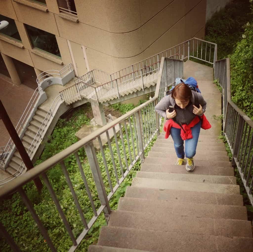 Coit tower - razgled na San Francisco (Potovanje z otroki po Kaliforniji)