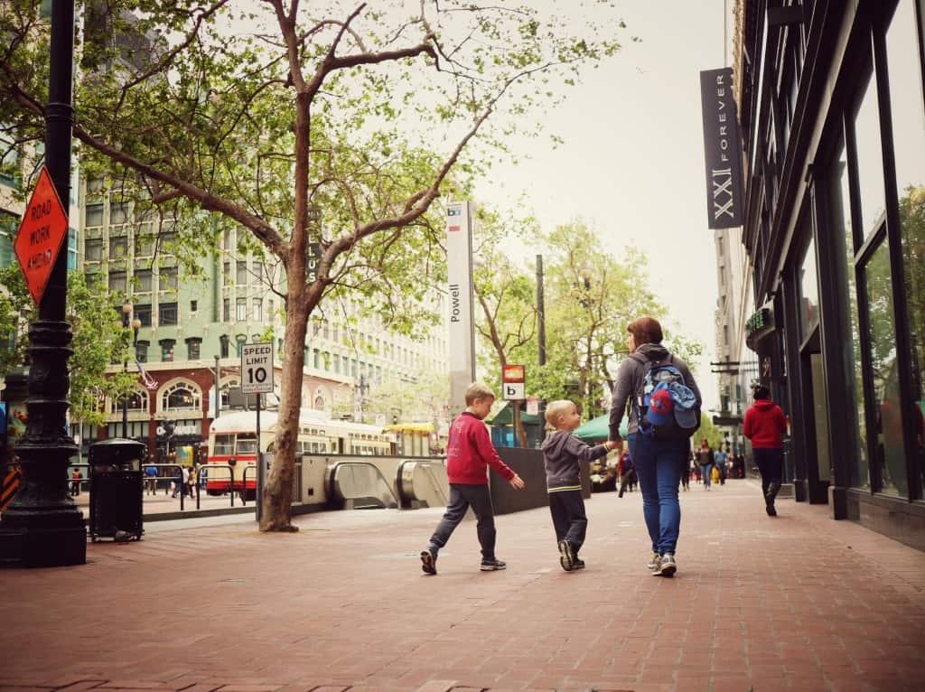 Sprehod po San Franciscu (Potovanje z otroki po Kaliforniji)