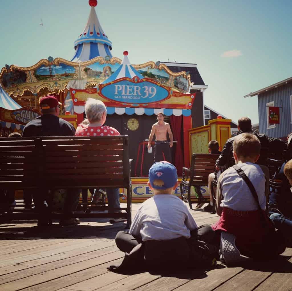 Pier 39 & Fisherman's warf, San Francisco (Potovanje z otroki po Kaliforniji)
