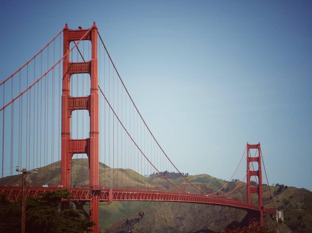 Slavni Golden gate, San Francisco (Potovanje z otroki po Kaliforniji)