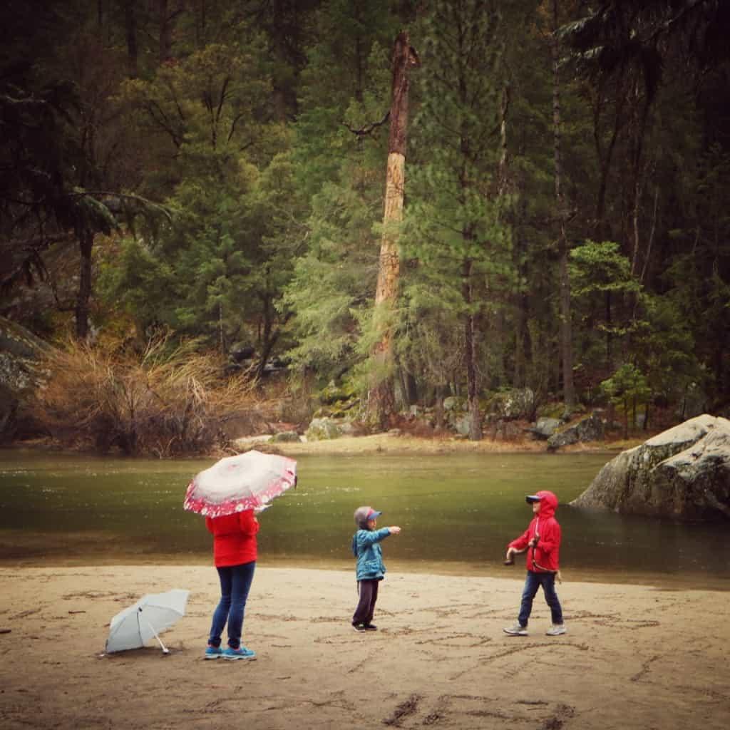 Yosemite national park (Potovanje z otroki po Kaliforniji)
