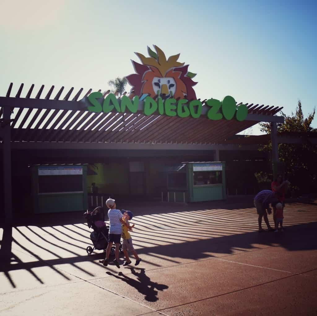 San Diego ZOO (Potovanje z otroki po Kaliforniji)