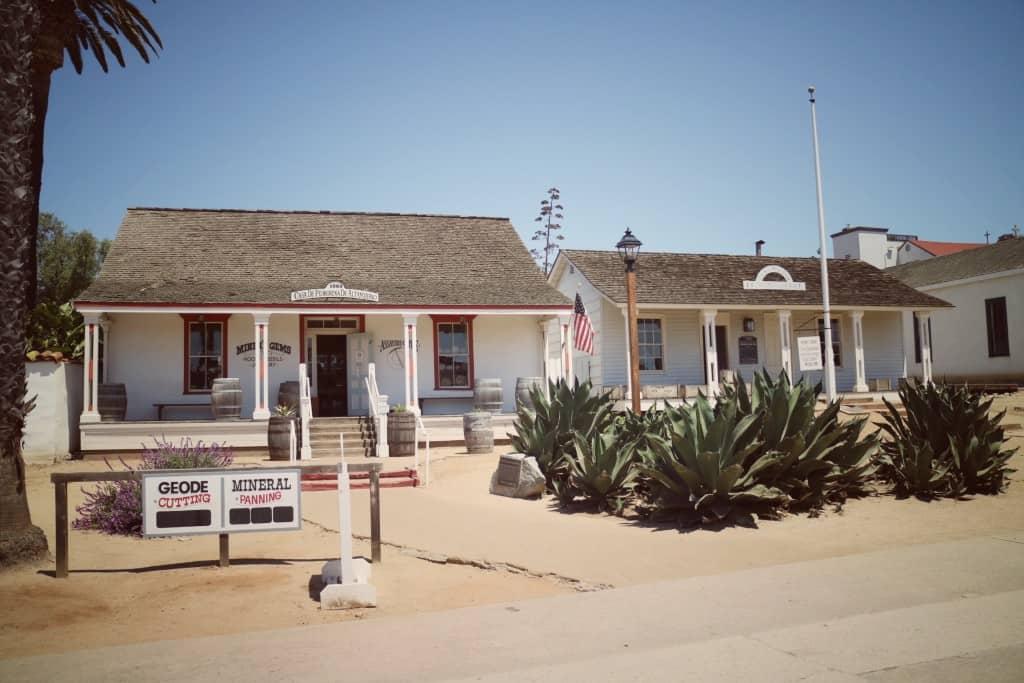 San Diego State Historic Park (Potovanje z otroki po Kaliforniji)