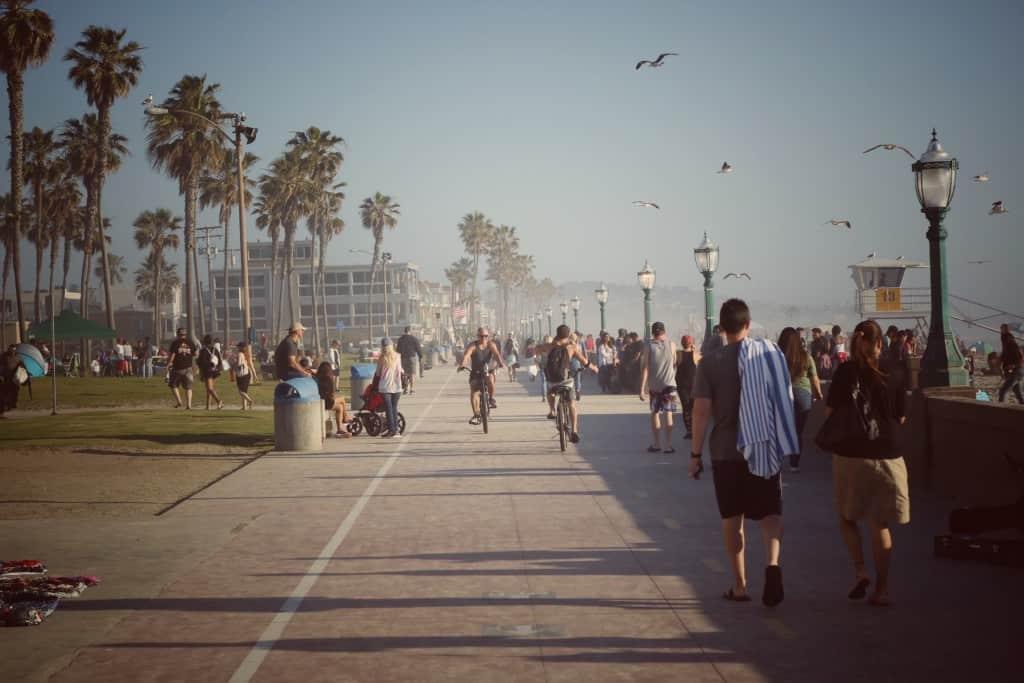Belmont park, San Diego (Potovanje z otroki po Kaliforniji)