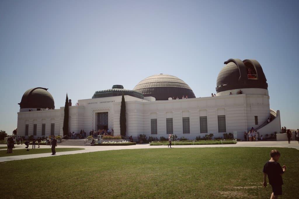 Griffith observatorij, LA (Potovanje z otroki po Kaliforniji)