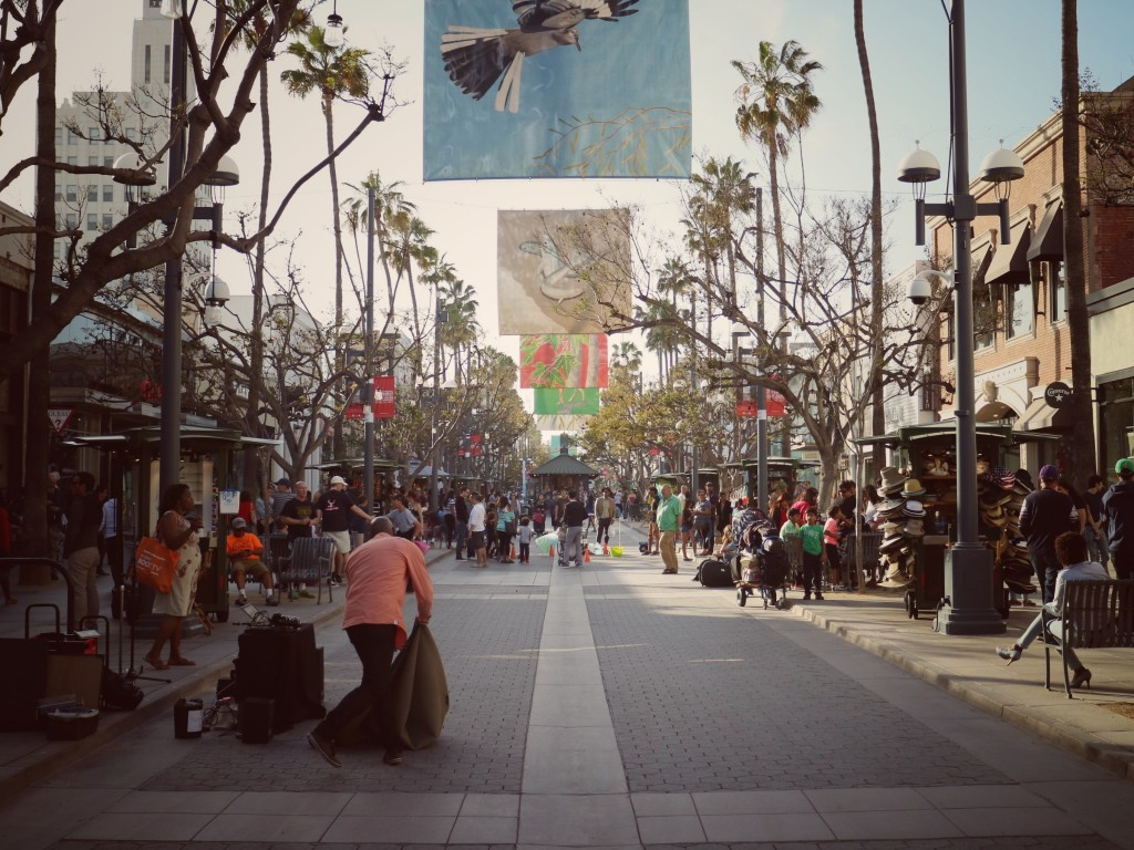Santa Monica boulevard (Potovanje z otroki po Kaliforniji)