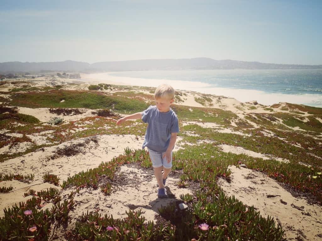 Carmel by the sea (Potovanje z otroki po Kaliforniji)