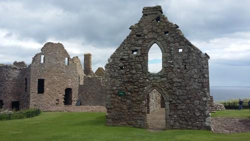 Grad Dunnottar, Škotska z otroki