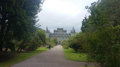 Grad Inverarray, Škotska z otroki
