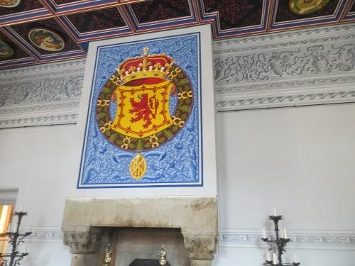 Grb škotskih kraljev, Škotska
