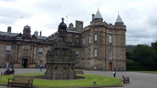 Hollyroodhouse Palace, Škotska