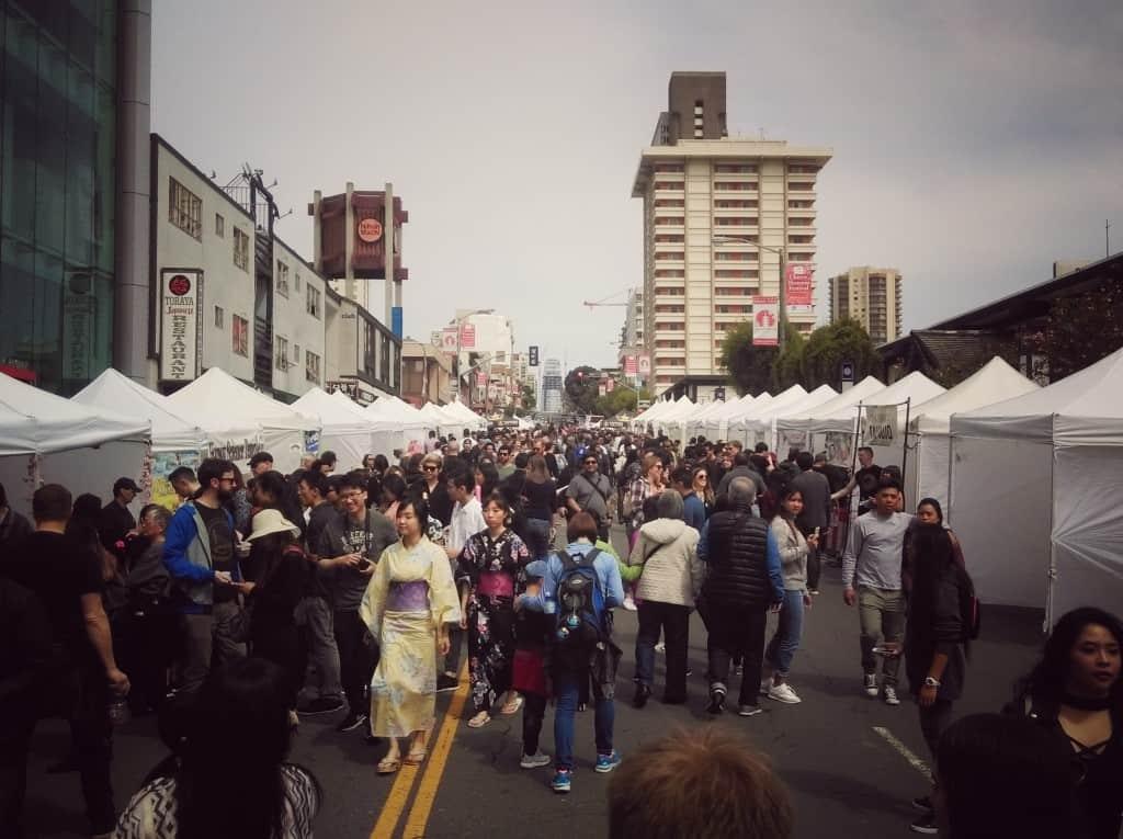 Japantown, San Francisco (Potovanje z otroki po Kaliforniji)
