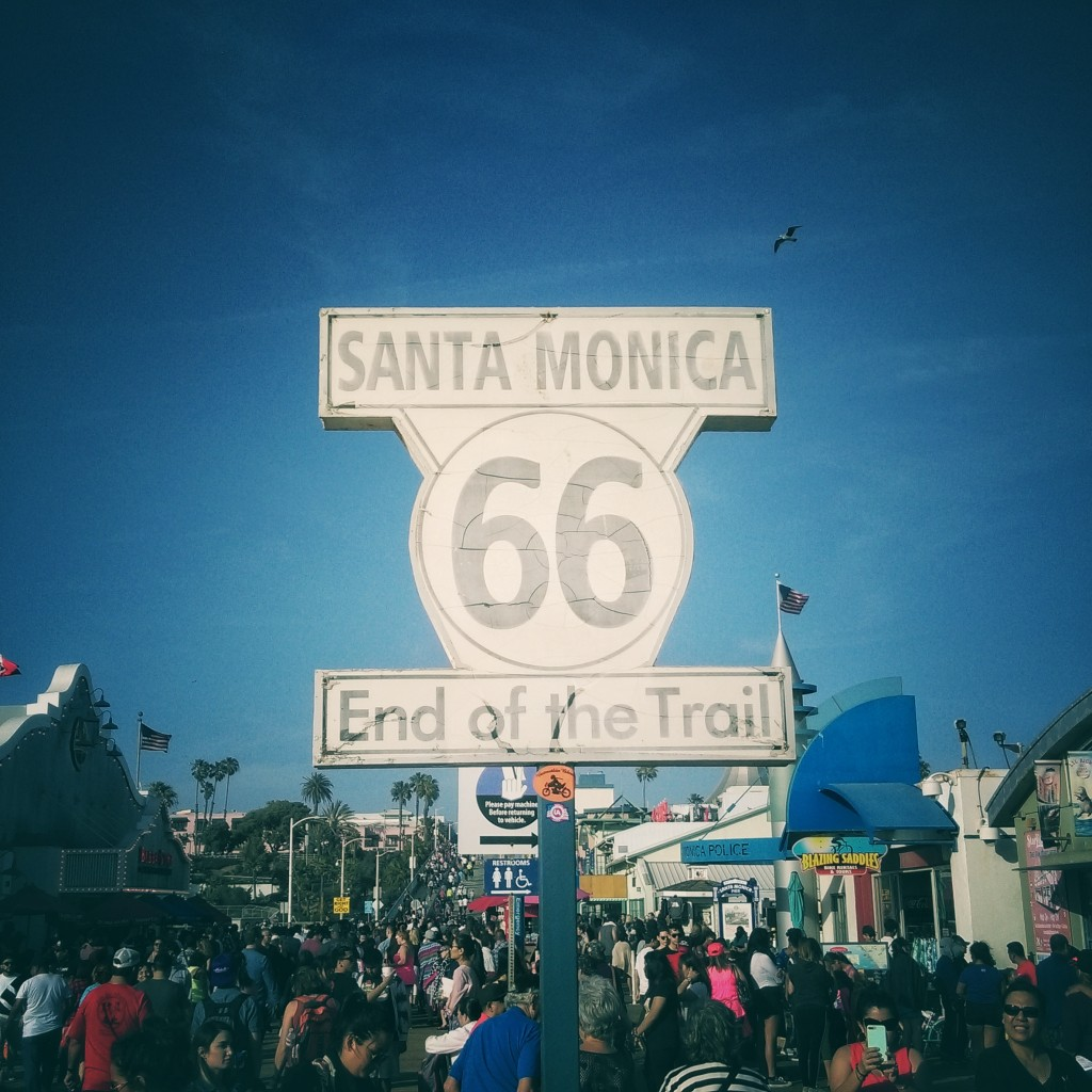 Santa Monica (Potovanje z otroki po Kaliforniji)