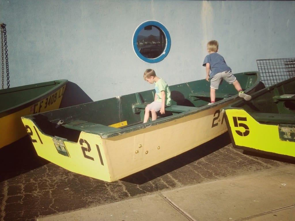 Santa Cruz (Potovanje z otroki po Kaliforniji)