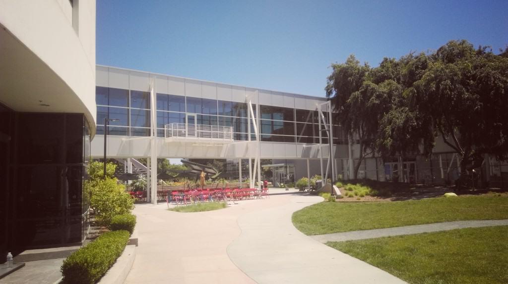Google, San Jose Silicon Valley (Palo Alto) - z otroki po Kaliforniji