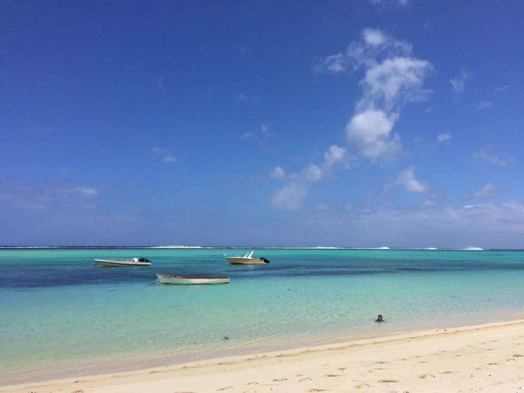 Temperature morja in zraka so primerne res za vse starosti otrok (rajski otoki družinsko)