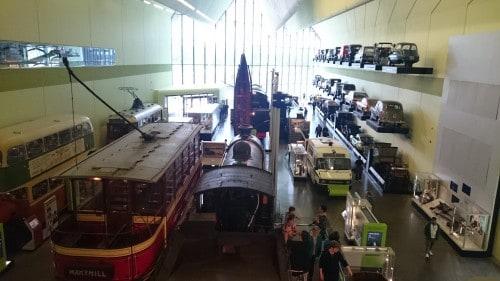 Muzej prometa Riverside, Škotska z otroki