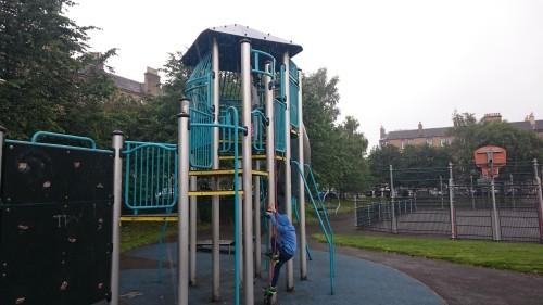 Otroško, športno igrišče v Edinburgu, Škotska