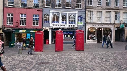 Ulice Edinburga, Škotska