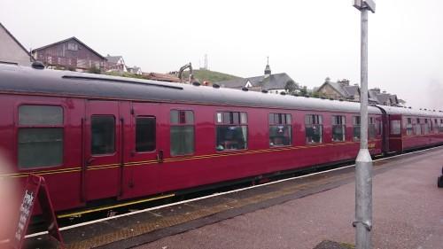 Vlak iz filma o Harry Potter-ju, Škotska z otroki