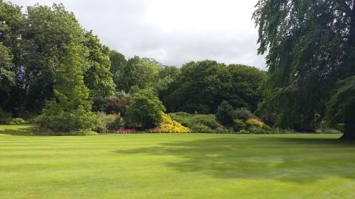 Vrtovi v Holyroodhouse Palace, Škotska