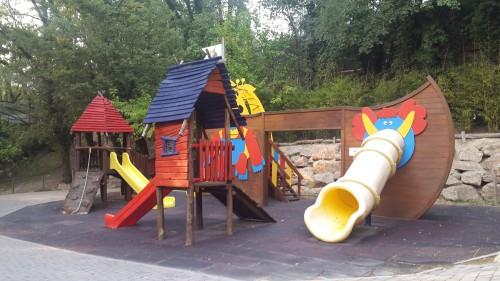 Otroško igrišče v Parku Natura Viva
