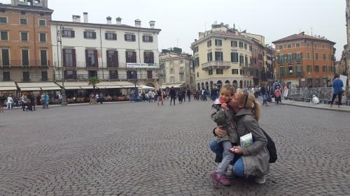 Piazza Bra ob Areni di Verona