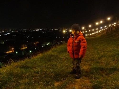 Večerni sprehod na piramido, Maribor