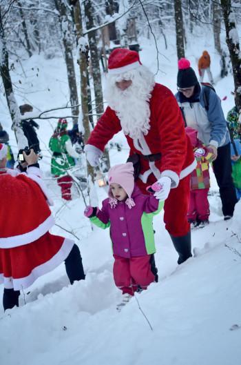Skozi Božičkov gozd v Božičkovi deželi