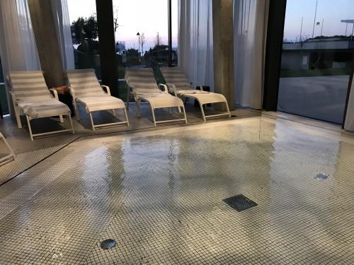 Nizek otroški bazen v hotelu Amarin v Rovinju