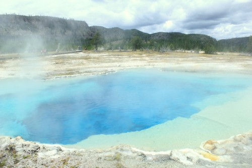 Gejzirji značilni za park Yellowstone (družinsko po narodnih parkih ZDA)