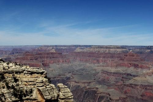 Možnost ogleda kanjona z višin (družinsko po ZDA)