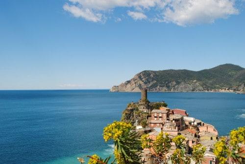 Italijanske Cinque Terre, prvomajske družinske počitnice