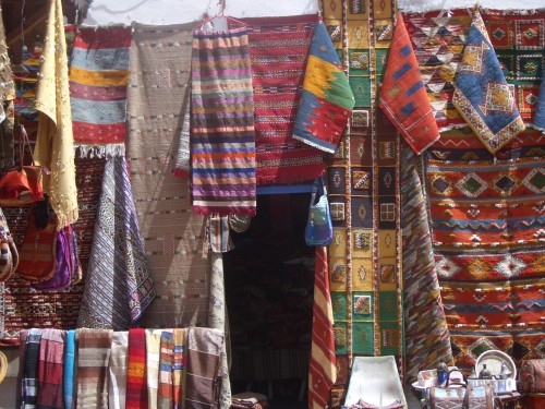Barve in vzorci Maroka
