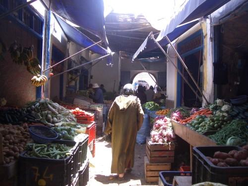 Ljubitelji raznovrstne zelenjave bodo v Maroku zagotovo prišli na svoj račun
