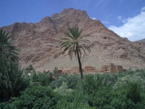 Oaza - Maroko z otrokom