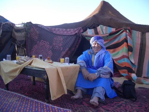 Zajtrk v puščavi