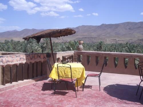 Postanek v oazi na poti do Ouarzazata