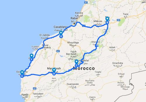 Morroco road trip 1