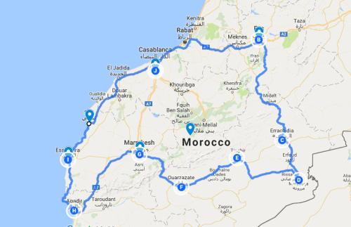 Morroco road trip 2